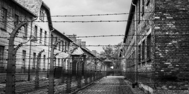 El campo de exterminio de Auschwitz, en Polonia, en una imagen de