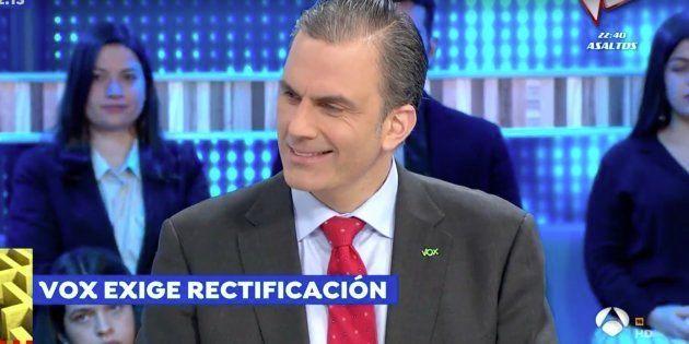 Javier Ortega Smith en 'Espejo Público' (Antena