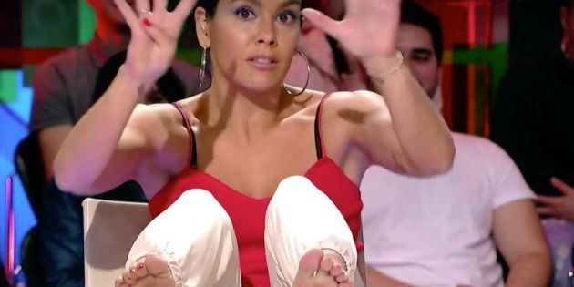 Cristina Pedroche, con uno de sus recados más