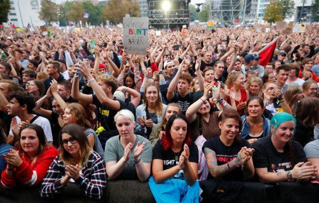 Alemania celebra un megaconcierto contra el racismo y la