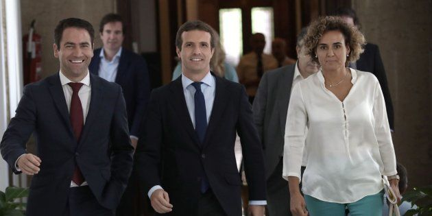 García Egea, Casado y