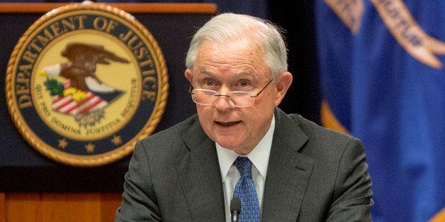 El fiscal general, Jeff Sessions, en una imagen de