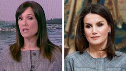 La curiosa coincidencia entre Letizia y Mónica López ('El tiempo' de