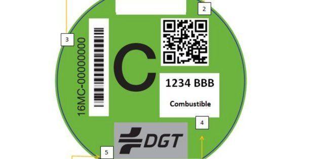 Las etiquetas de la DGT que necesitas desde ya para circular por