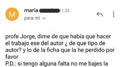 La historia desencadenada por este email de una alumna a un profesor arrasa en