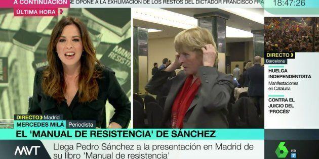 Mamen Mendizábal en 'Más Vale Tarde' con Mercedes