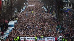 Miles de pensionistas claman en todo el país por un sistema de pensiones