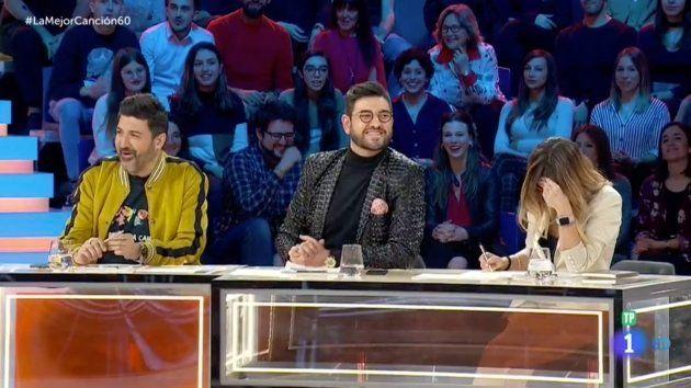Manu Sánchez deja a todos con la boca abierta en 'La Mejor Canción Jamás