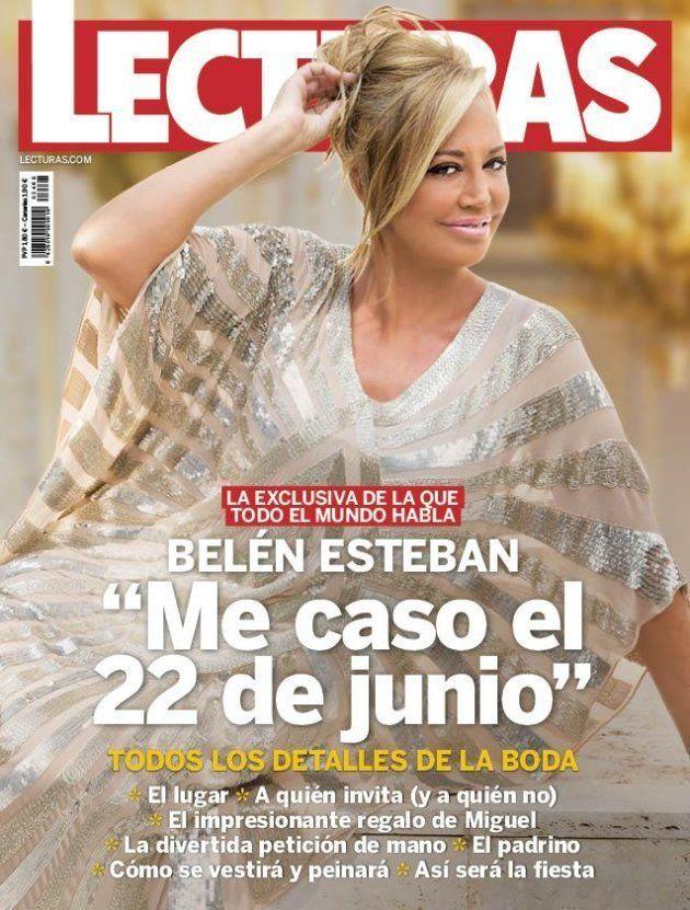 Belén Esteban anuncia la fecha de su boda con Miguel