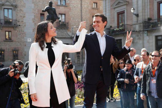 Inés Arrimadas y Albert