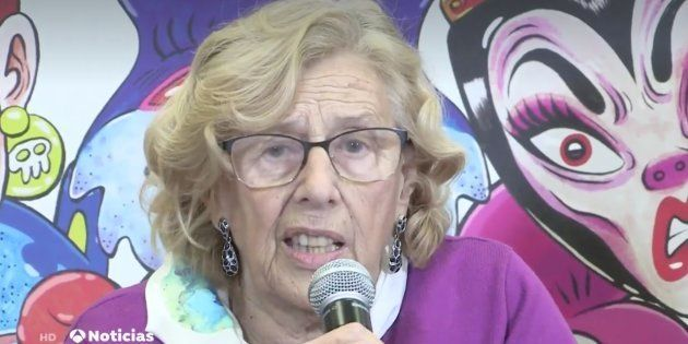 Manuela Carmena, alcaldesa de