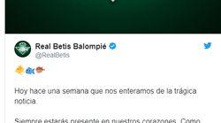 El conmovedor homenaje del Betis a Gabriel (y a sus