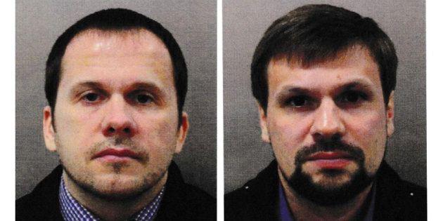 Los dos acusados de envenenar al exespía Skripal y su