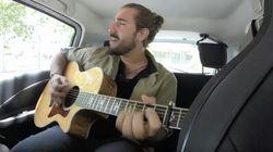 Entrevista y directo en el coche con el gran artista Andrés