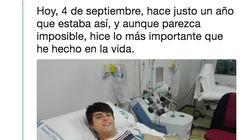 La experiencia viral de cómo este chico salvó una vida humana es el empujón que necesitas para donar