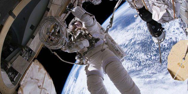 Rusia sospecha que el agujero en la Estación Espacial Internacional fue un