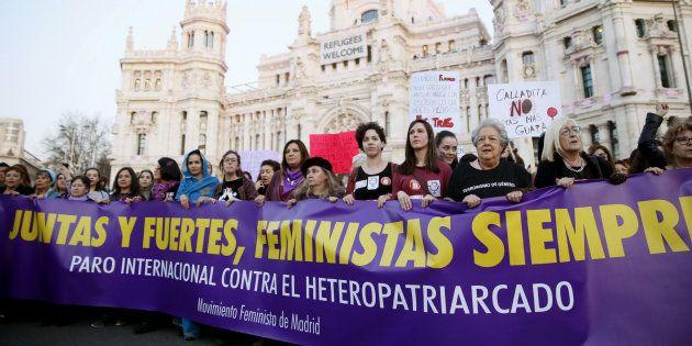 Manifestación feminista del pasado 8 de