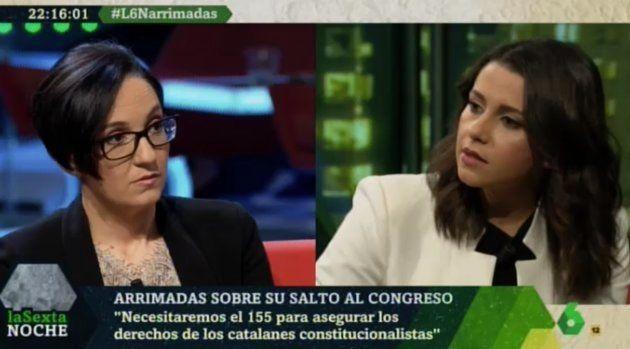 Inés Arrimadas en 'LaSexta
