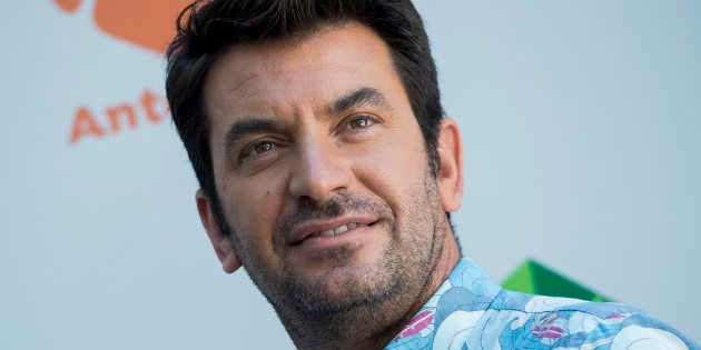 Arturo Valls, en la presentación de 'Me Resbala' en julio de