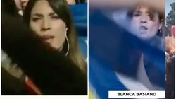 Segundo boicot independentista en cuatro días a esta reportera de 'Antena 3 Noticias' en pleno
