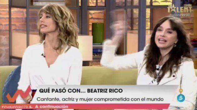 Emma García y Beatriz Rico en 'Viva La