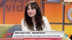 Beatriz Rico se emociona en 'Viva la vida' al recordar a Carmen