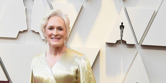 El parecido razonable que le han encontrado a Glenn Close en los premios Oscar