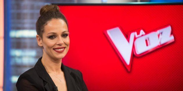 Eva González, presentadora de 'La Voz' (Antena