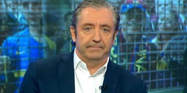 Críticas a Josep Pedrerol por lo que hizo tras la victoria del Real