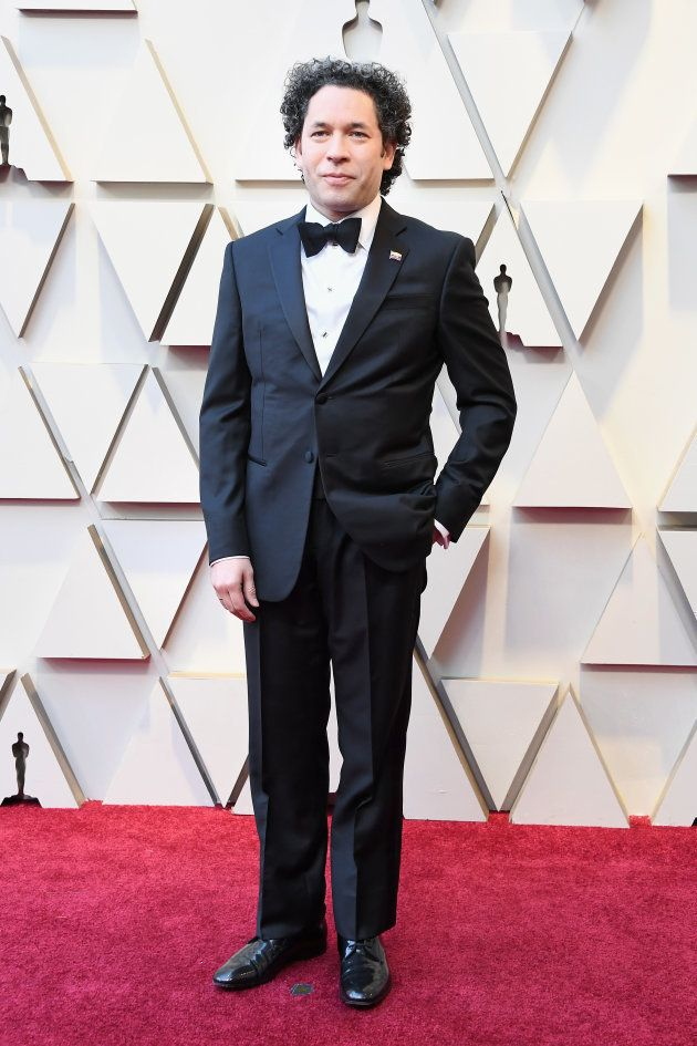 HOLLYWOOD, CA - FEBRUARY 24: Gustavo Dudamel attends the 91st Annual Academy Awards at Hollywood and...