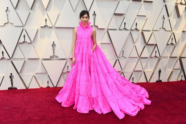 Por qué Gemma Chan ha sido la mejor vestida en los Oscar