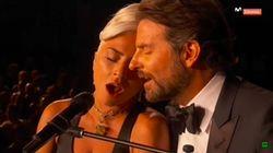La potente actuación de Lady GaGa y Bradley Cooper en los Oscar