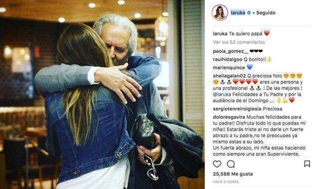 Lara Álvarez emociona a sus seguidores con su publicación