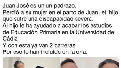 La orla universitaria que emociona a media España: la foto lo dice