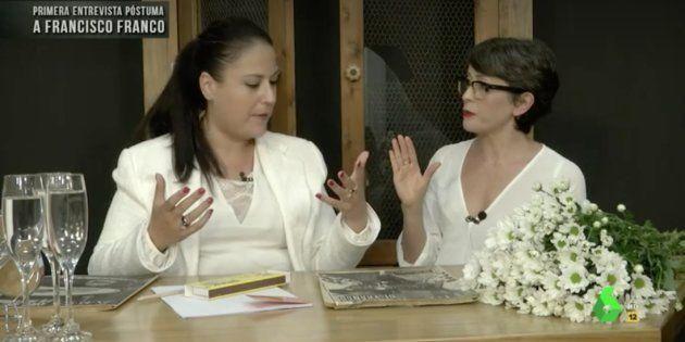 'El Intermedio' pone a una médium a entrevistar a Franco:
