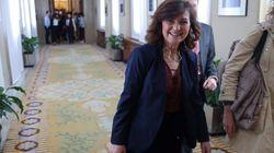 Calvo informa a puerta cerrada en el Congreso sobre los viajes 'secretos' de Sánchez: