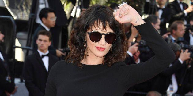 La actriz Asia Argento, en Cannes el 19 de mayo de