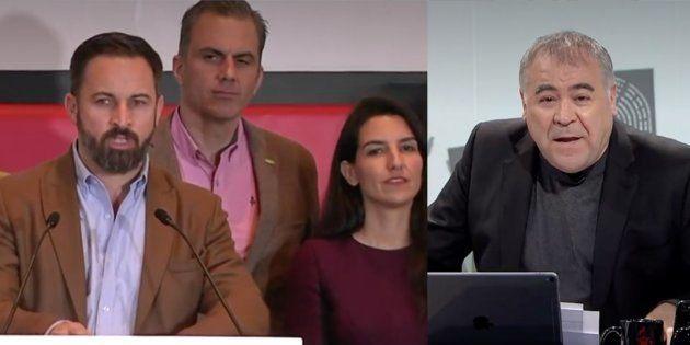 García Ferreras justifica la invitación a Vox al debate de Atresmedia de cara al