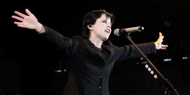 Dolores O'Riordan, durante un concierto en Melbourne (Australia) el 17 de marzo de