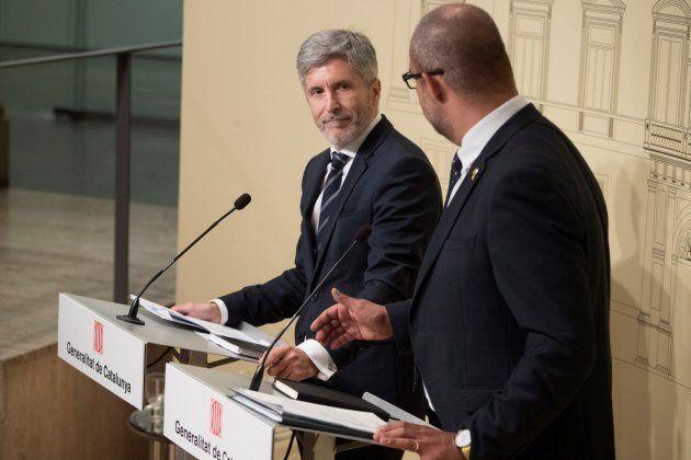 Pacto entre el Gobierno y la Generalitat para que los Mossos garanticen la