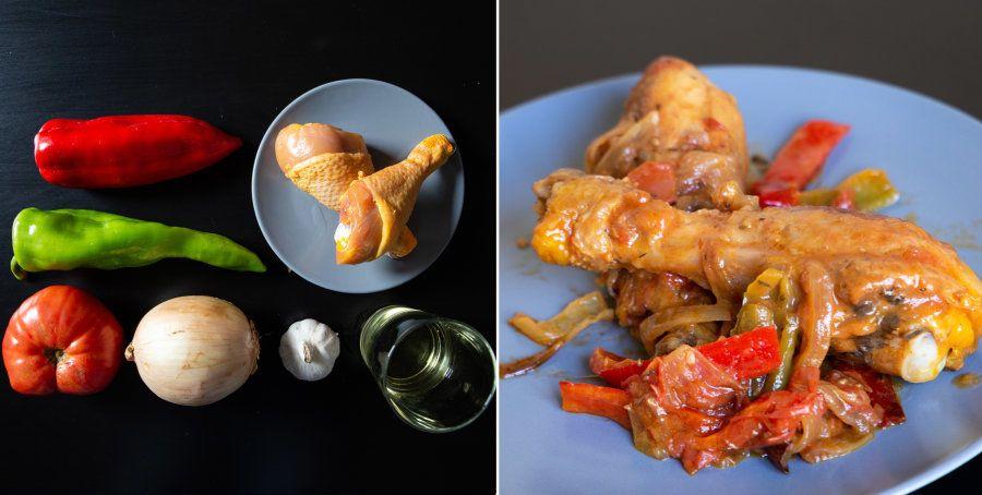 Recetas fáciles: pollo al