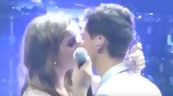El esperado beso entre Amaia y Alfred en el concierto en