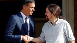 Comienza la reunión entre Pedro Sánchez y Pablo Iglesias para avanzar en la negociación