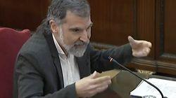Cuixart y Forcadell cierran las declaraciones de los acusados por el
