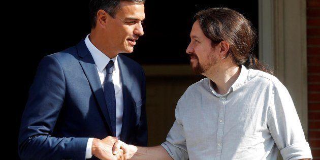 Iglesias, tras reunirse con Sánchez: