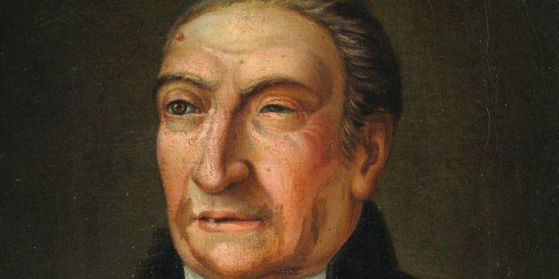 Retrato de Antoni de Martí Franquès conservado en la Real Academia de Ciencias y Artes de