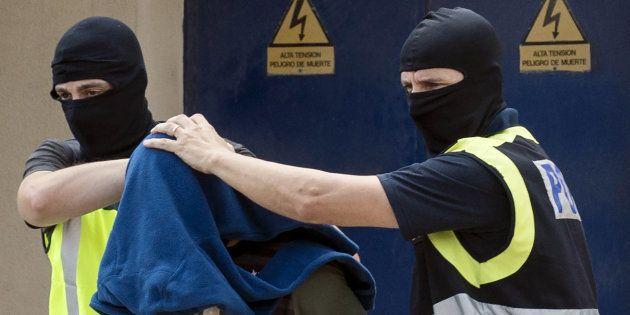Un presunto yihadista, detenido en Melilla, en septiembre de