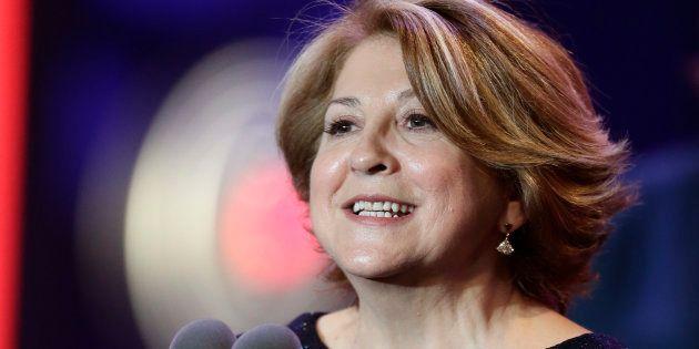 La productora Esther Garcia, en los Goya de