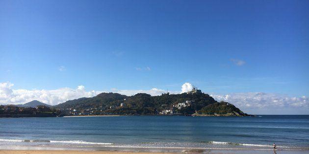 La playa de La Concha en San