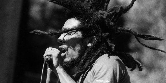 Bob Marley en un